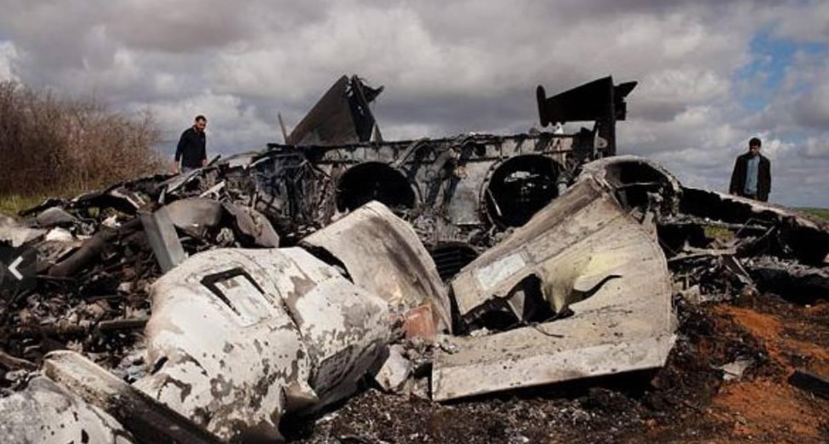 Падший ангел смерти: в Ливии разбился F-15