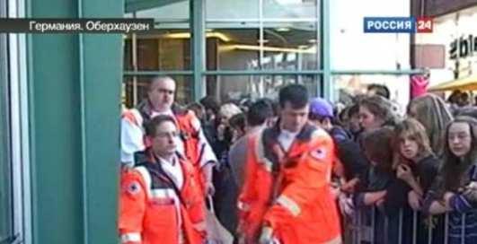 Паника на телешоу: 60 раненых