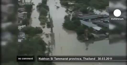 Миллион пострадавших в Тайланде: страна утонула
