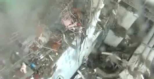 Обломки реактора: новое видео с Фукусимы