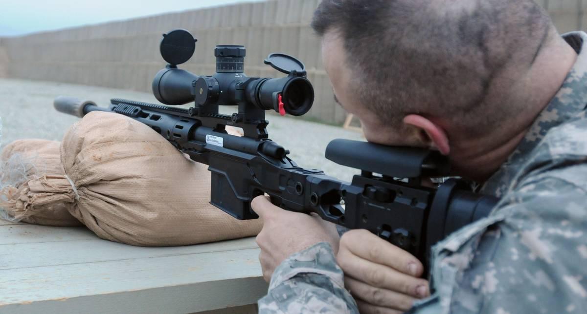 Новая снайперская винтовка: раз – и в глаз