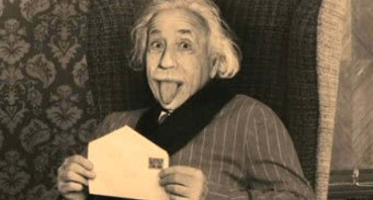Веселое кощунство: Sony изгаляется над Эйнштейном