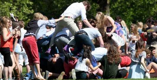 Бедовое побоище: дебош в Кембридже