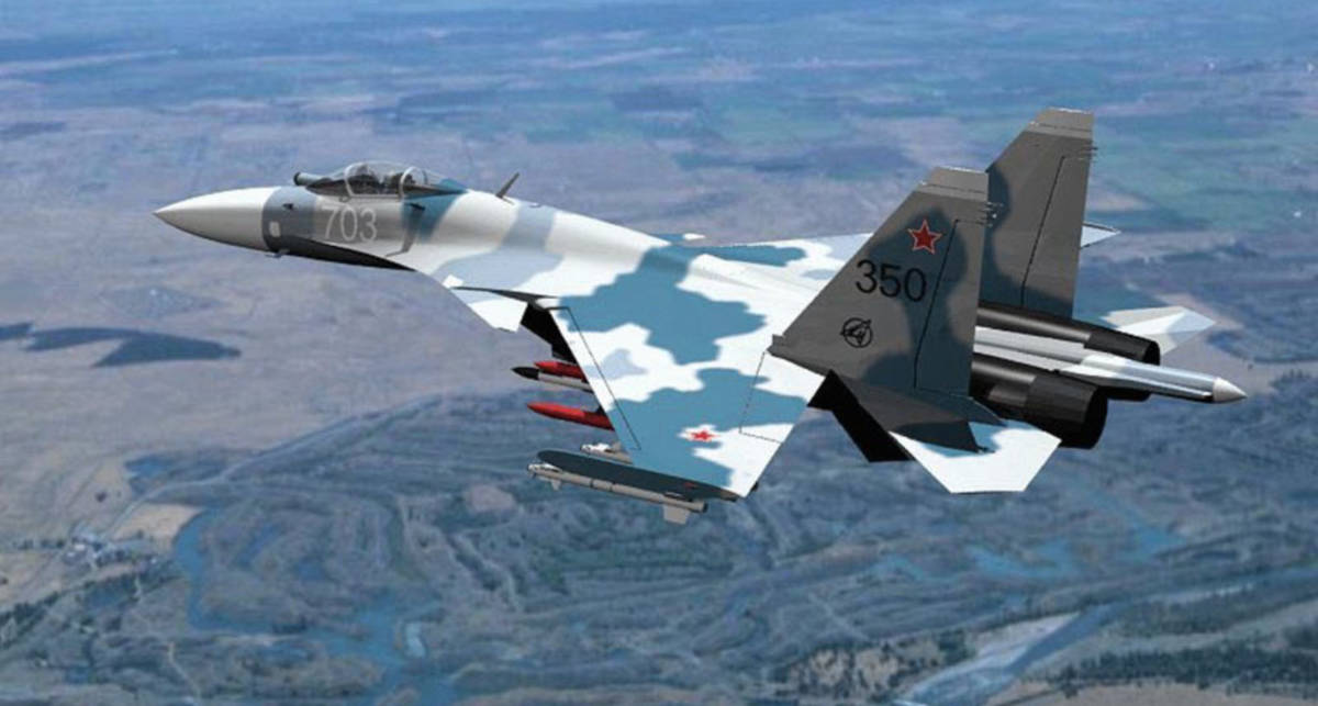 Су-35: первый серийный убийца России