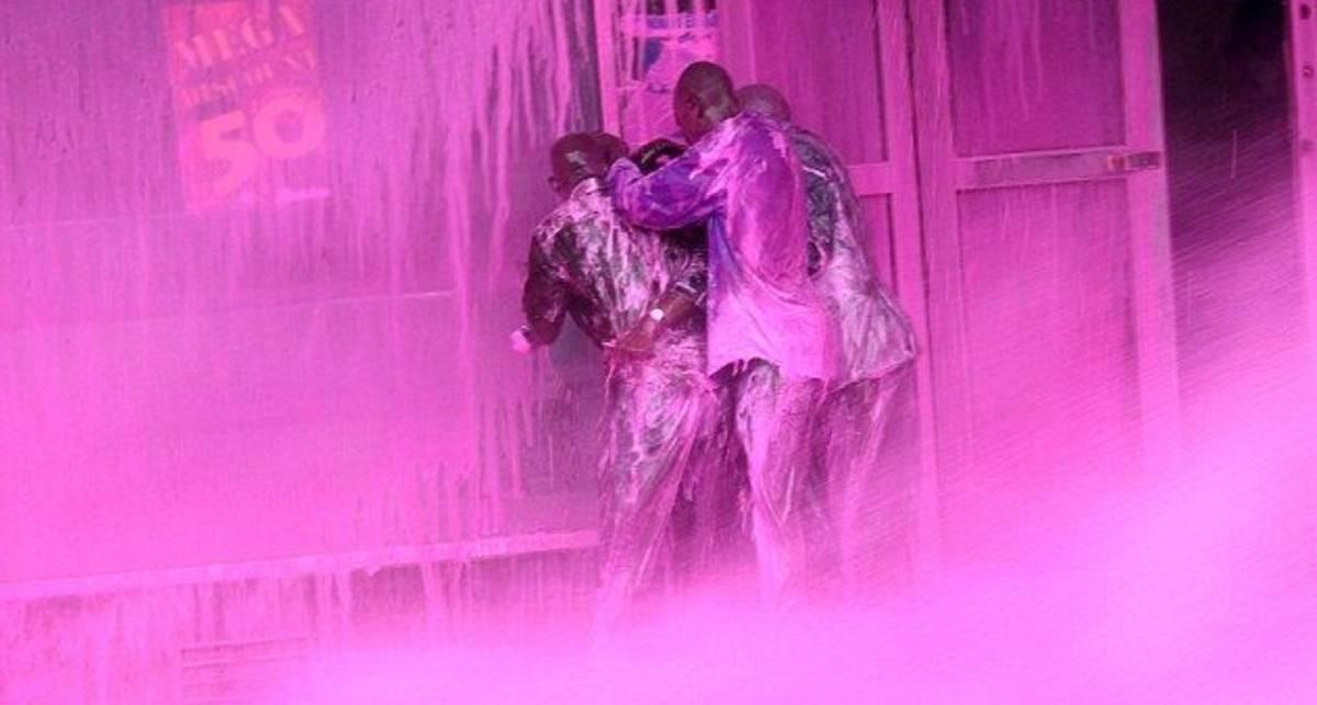 Восстание розовых негров: покрась повстанца