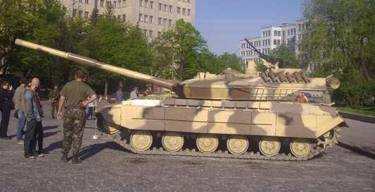 Танк Т-64Е: большой секрет Украины