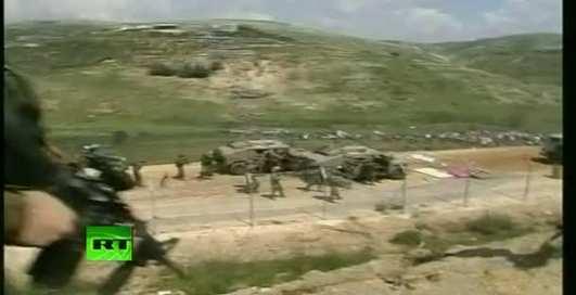 Как в Израиле стреляют нелегалов (ВИДЕО)