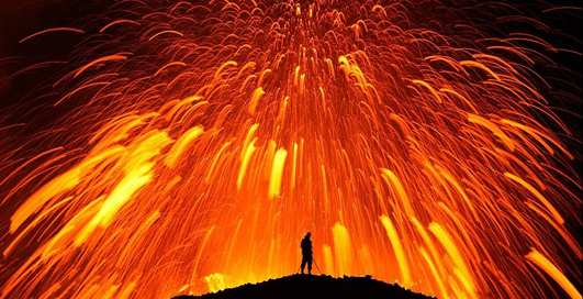 Извержение строптивых: фото бешеных вулканов