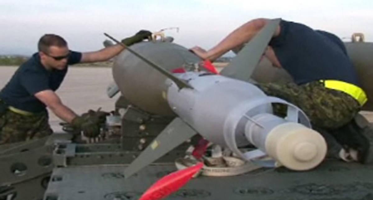 Каддафи уничтожат лазерными бомбами