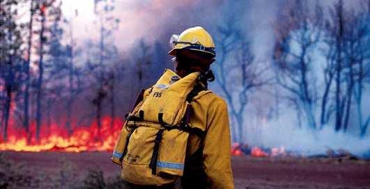 Россия в огне: в Якутии горят леса