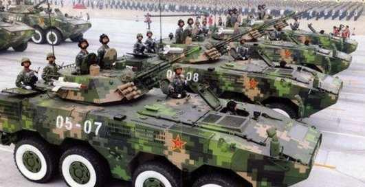 Броневики из Китая атакуют Землю
