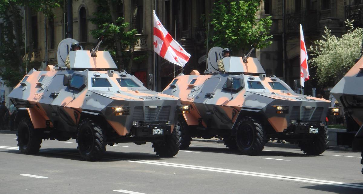 Didgori: броневой горец из Тбилиси