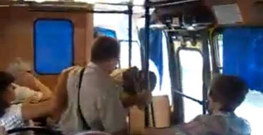 Кровавая бойня в мариупольском автобусе