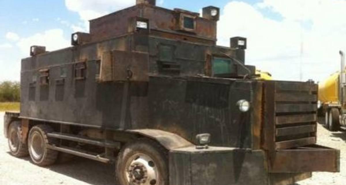 Давят авторитетом: бандиты сели на танки