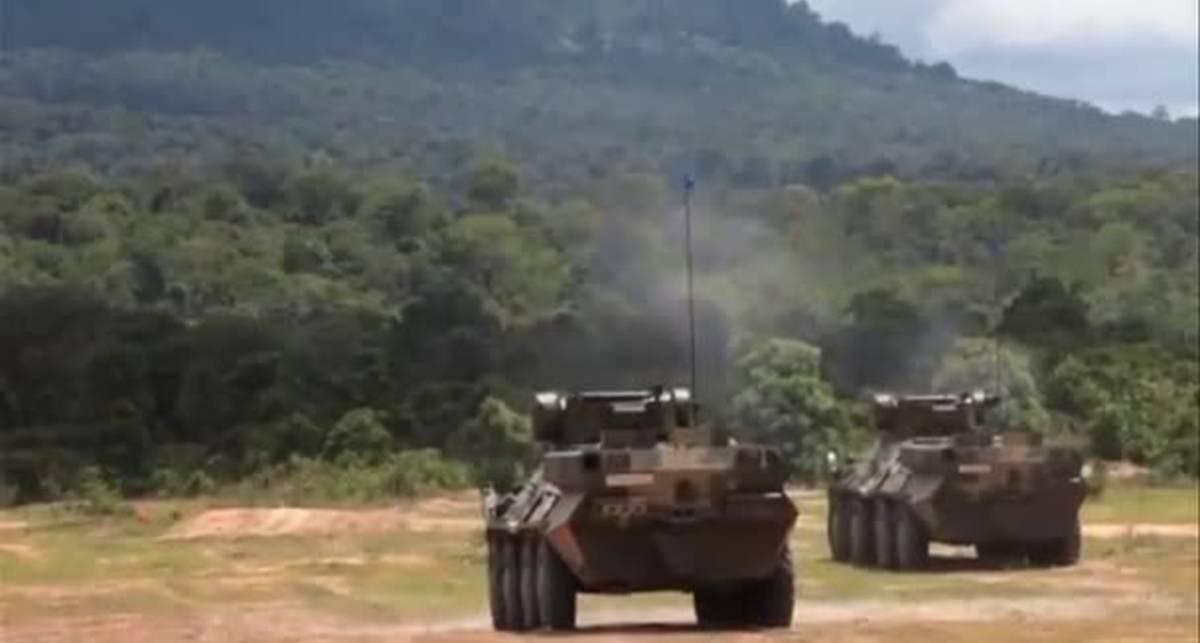 Тайцы обкатали наши БТРы