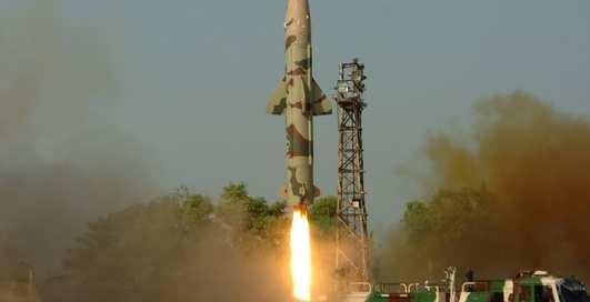 Лови, Кришна: индийская ракета ушла в небо