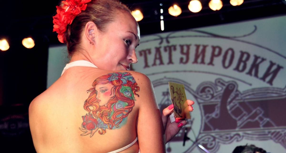 Эх, наколочки: фестиваль тату в Питере