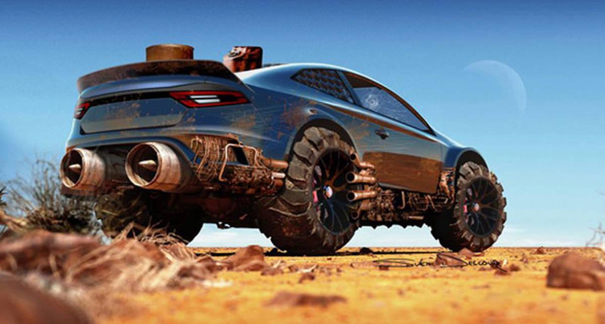 Ford Mad Max: бешеные тачки Безумного Макса