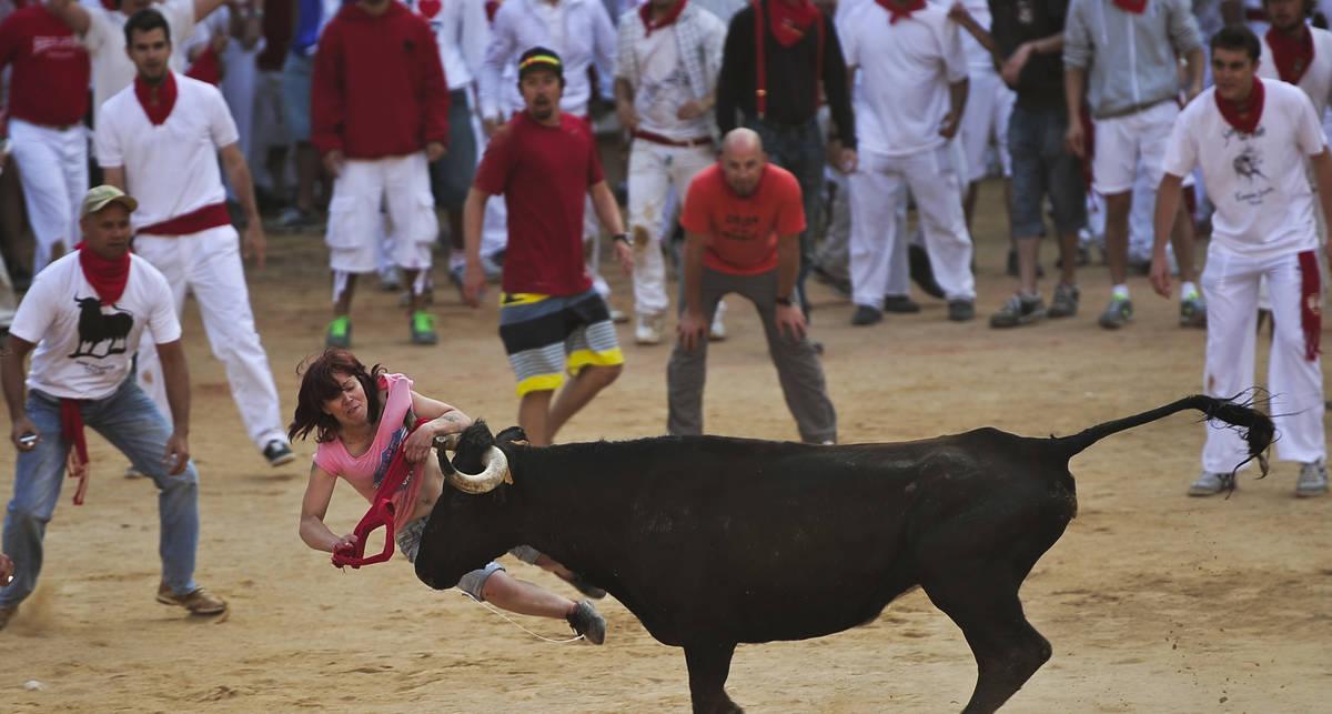 Бега и копыта: испанцы смылись от быков