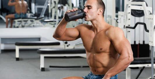 Чем кормить большие мышцы?