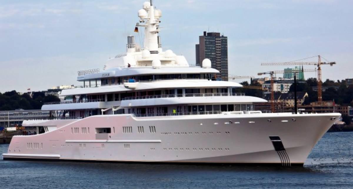 Яхта Абрамовича: катайся, кто может!