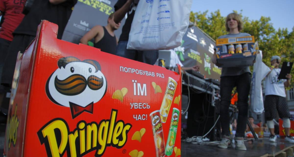 M PORT отдаст ящик Pringles в хорошие руки