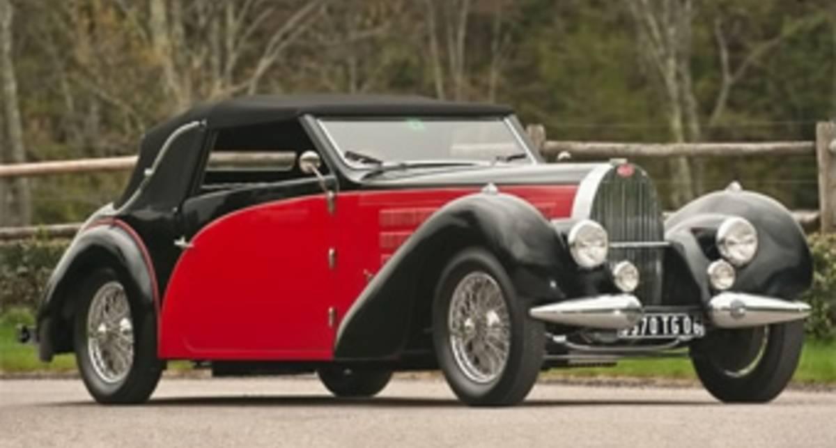 Раритетный Bugatti: $800 тысяч на старость