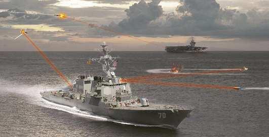 Америка вооружается боевыми лазерами