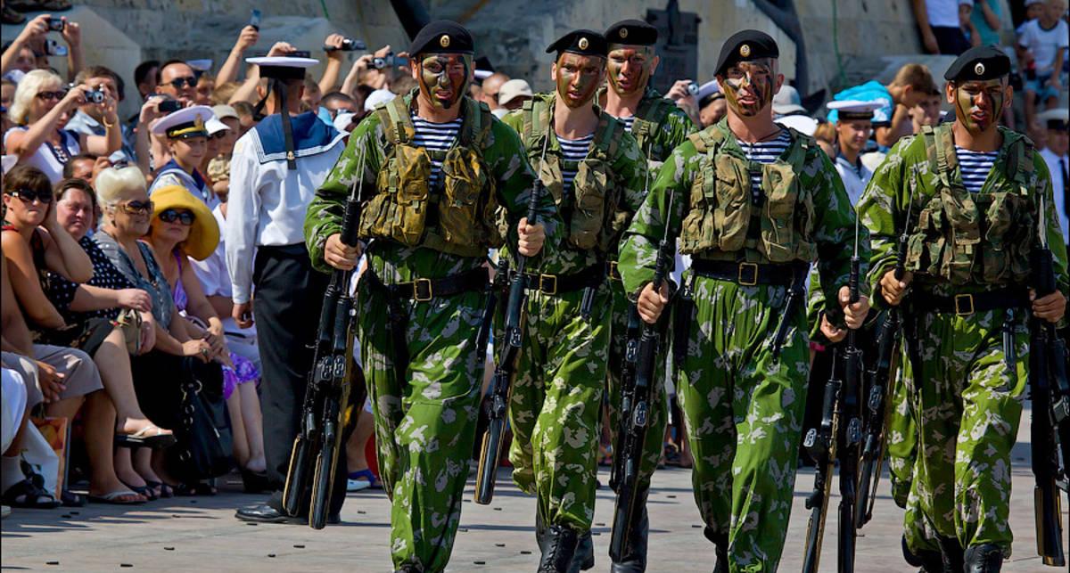 Поздравили: в Крыму отметили День ВМФ