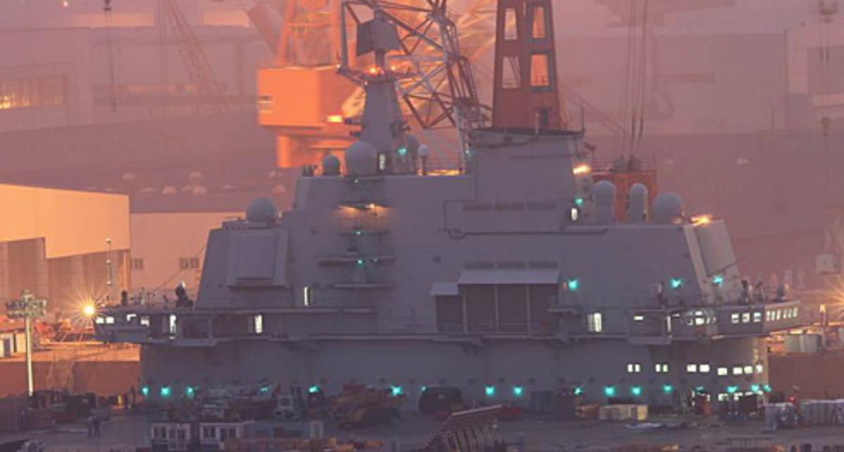 Морской дракон Китая: первые ФОТО