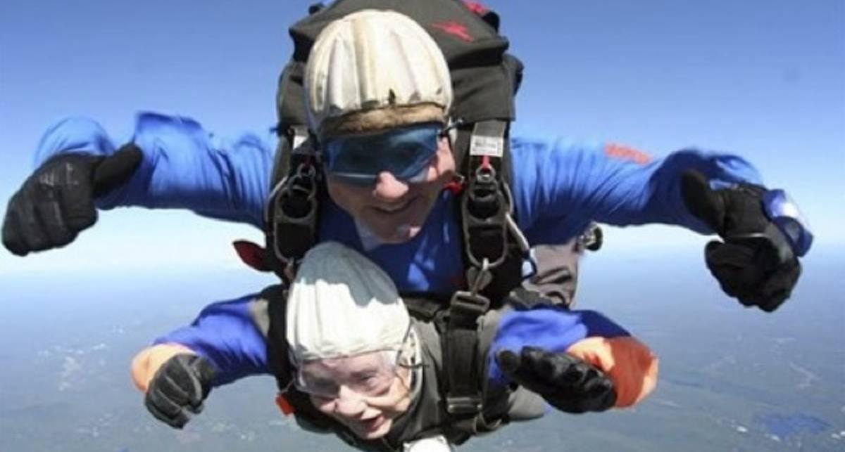 Предсмертный прыжок: бабка уходит в небо