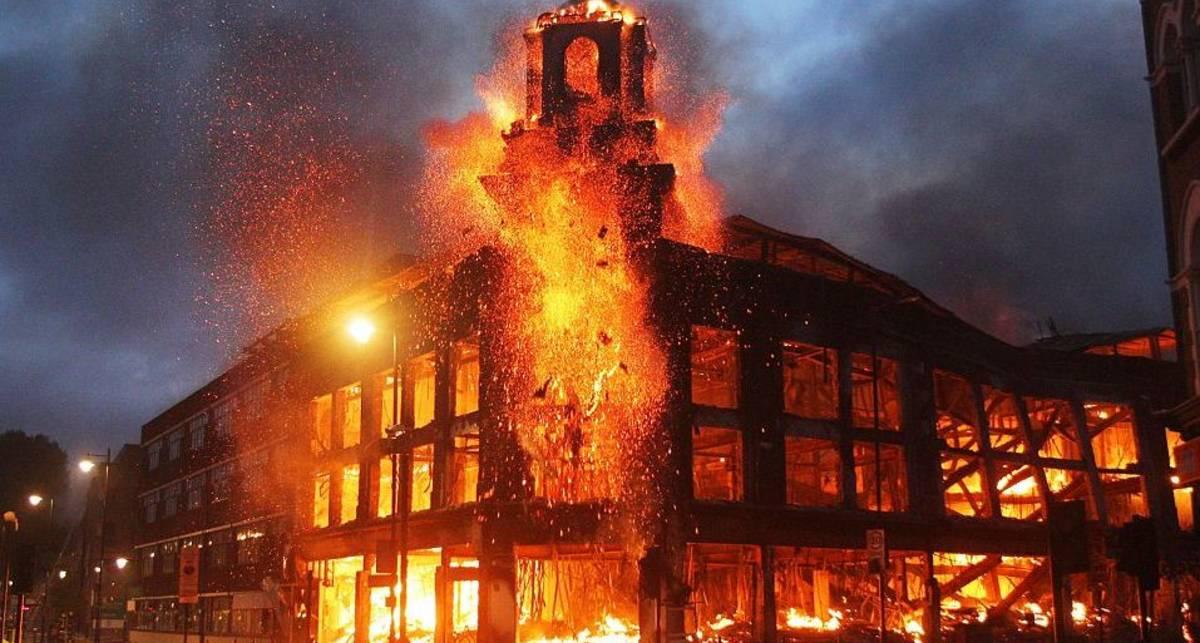 По-мужски: как быстро сжечь Лондон