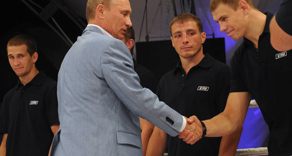 Махач для Путина: в Сочи бились без правил