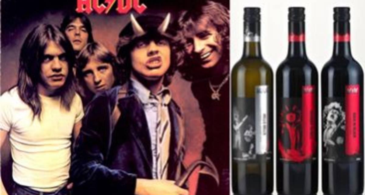 Пей как рокер: вино от AC/DC