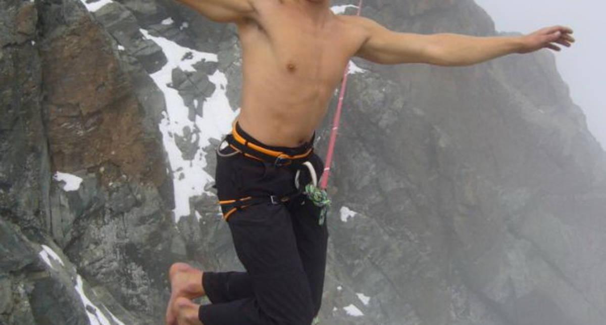 Альпийский сокол: босиком над пропастью