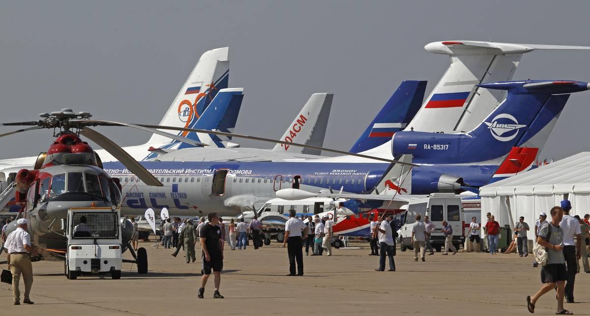 Лучшие самолеты: сбор под Москвой