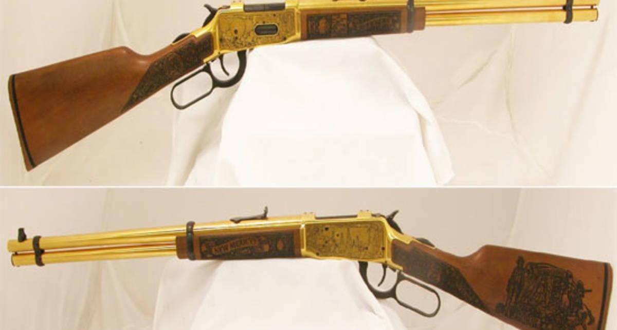 Убойная роскошь: винтовка из чистого золота