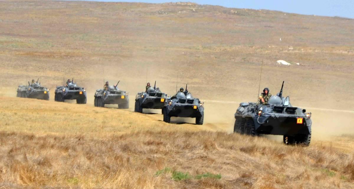 Гонки на броневиках: марш-бросок по Крыму