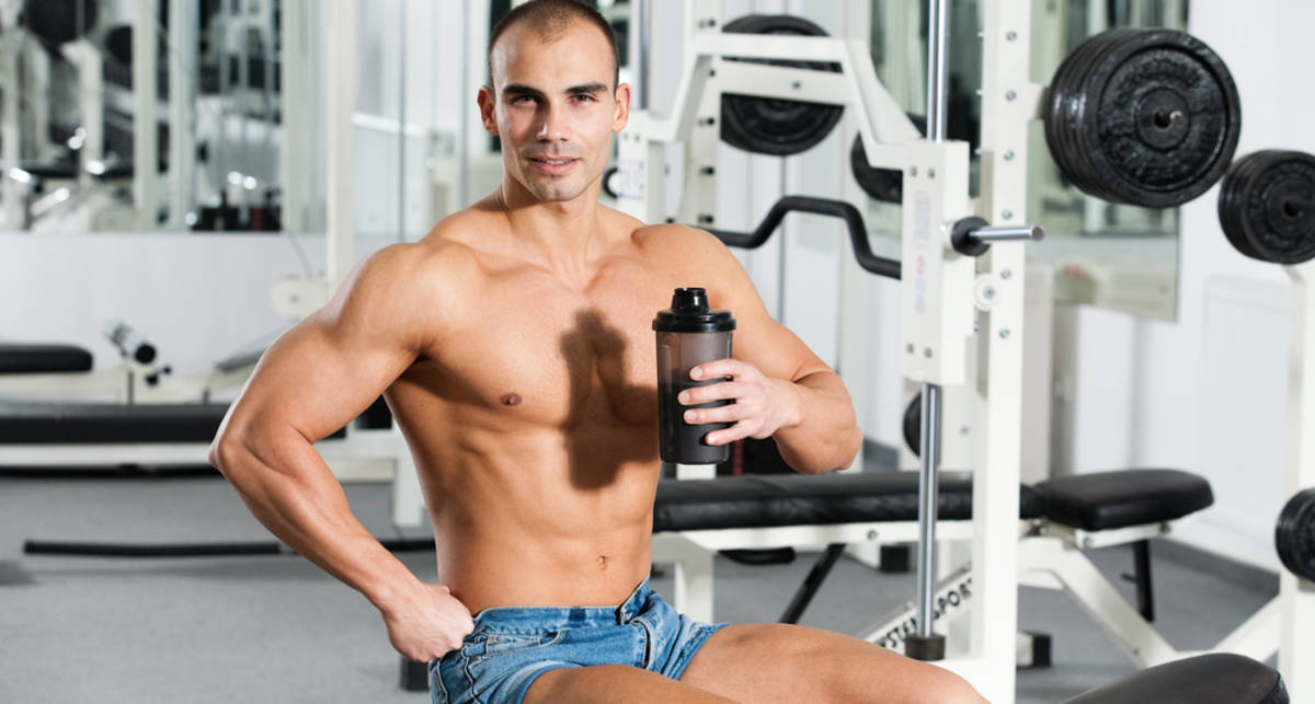 Совет Чемпиона: протеин тебе в мышцу!