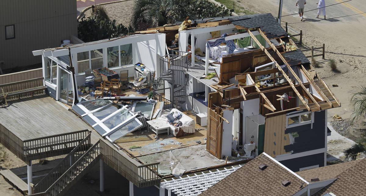 Ураган Айрин: уж погуляла, так погуляла