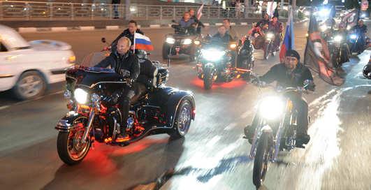 Владимир Путин: байкеры, за мной!