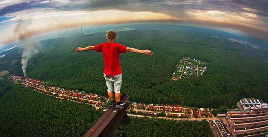 Снять с крыши: рисковая фотосъемка