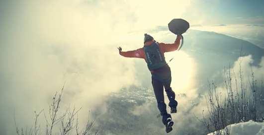Бейс-джампинг: прыгай без самолета