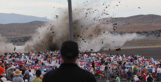 Новый Гастелло: самолет упал на шоу