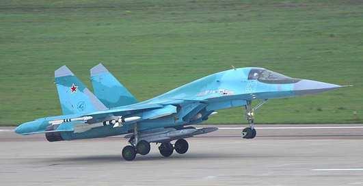 Су-34: новый бомбардир принят в строй