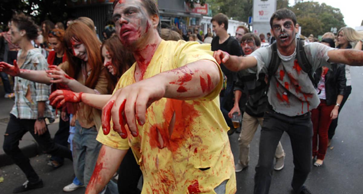 Зомбиленд: Киев стал городом монстров