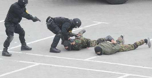 Враг не пройдет: стрельба на Донбасс-Арене