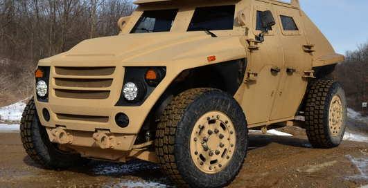 Хаммер на свалку: новый джип для армии
