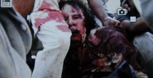 Муаммар Каддафи убит (ФОТО, ВИДЕО)