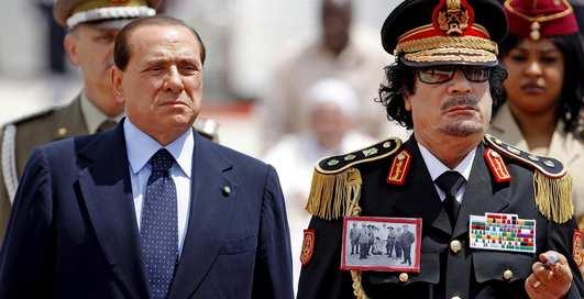 ТОП-7 странных причуд Каддафи